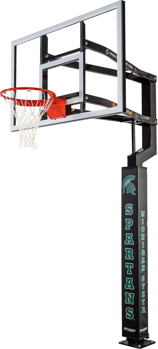 Goalsetter Michigan State Spartans Basketball Pole Pad product image