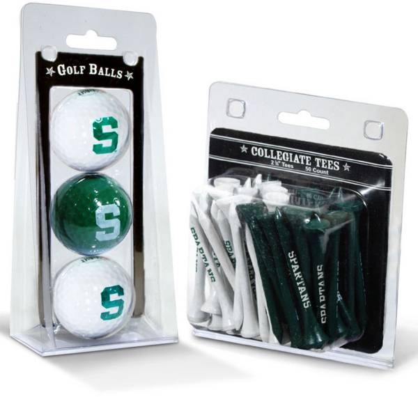 Team Golf Michigan State Spartans Golf Ball and Tee Set product image