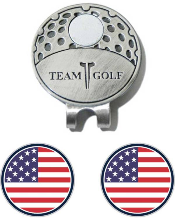 Team Golf USA Flag Cap Clip and Ball Marker Set product image