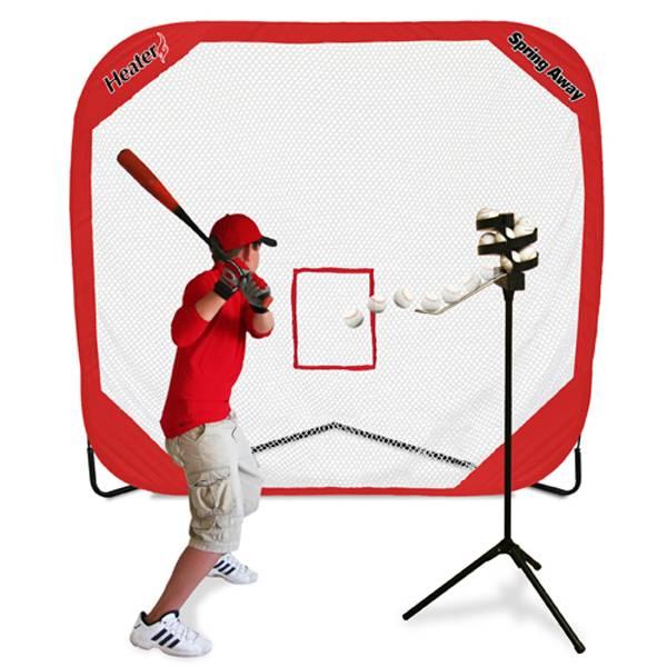 Heater Big League Soft Toss Pitching Machine & Pop-Up Net product image