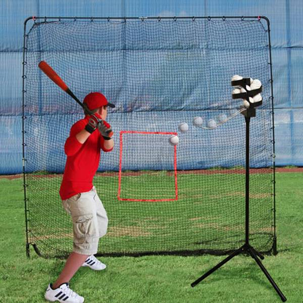 Heater Big League Soft Toss Pitching Machine w/ Practice Net product image
