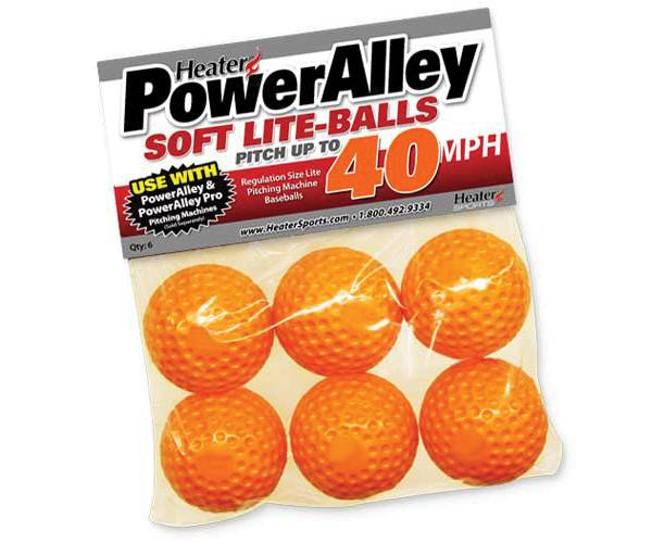 Heater PowerAlley Pitching Machine Soft Lite-Balls - 6 Pack product image