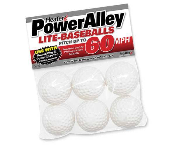Heater PowerAlley Pitching Machine Lite-Balls - 6 Pack product image