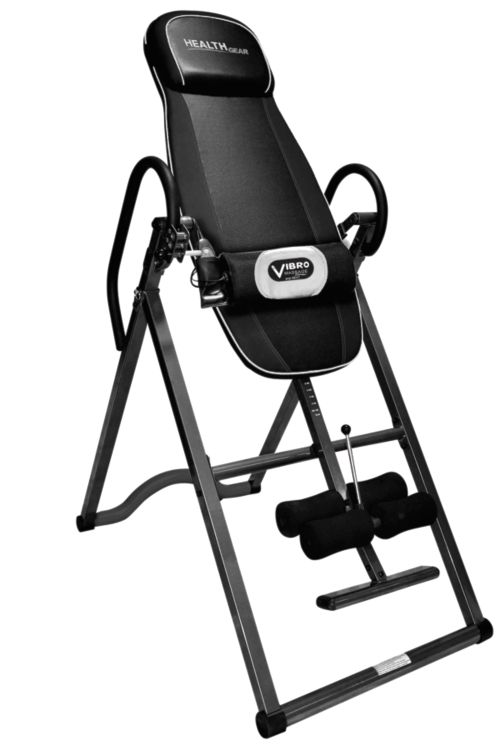 Health Gear Itm 4800 A Deluxe Heat And Massage Inversion Table
