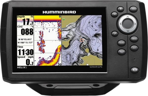 Humminbird Helix 5 G2 Sonar GPS Fish Finder (410210-1) product image