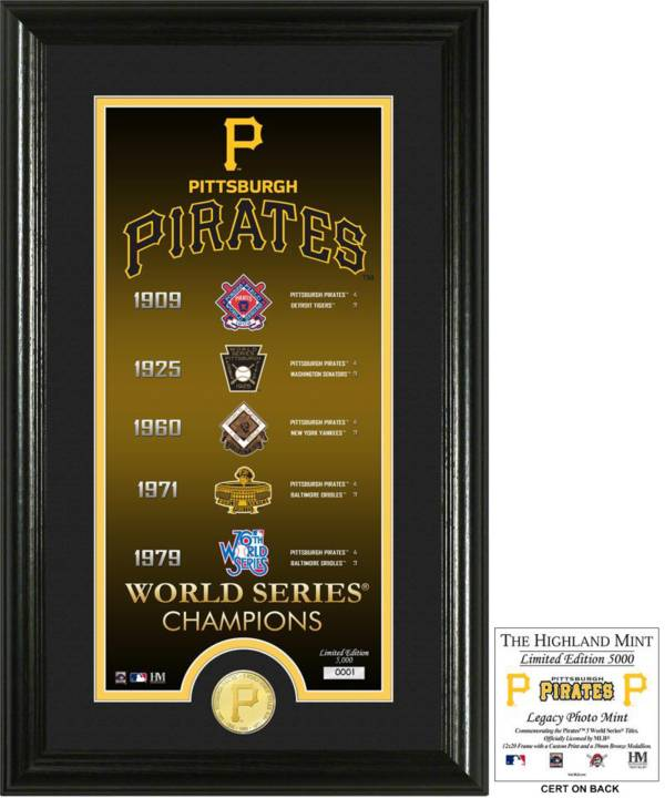 Highland Mint Pittsburgh Pirates 'Legacy' Supreme Bronze Coin Photo Mint product image