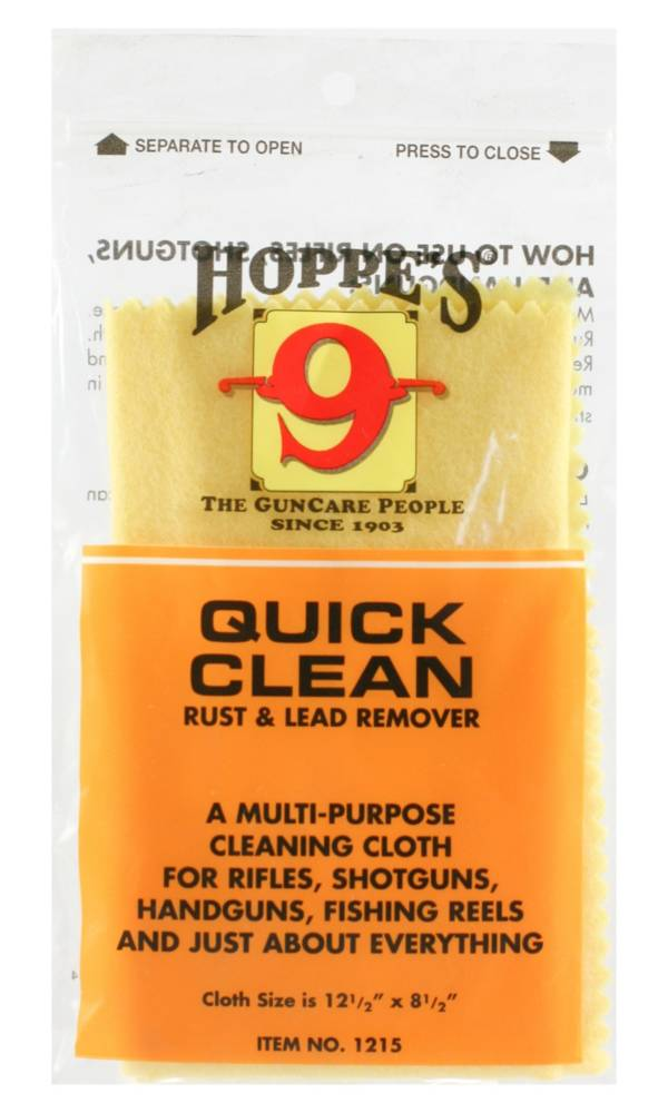Hoppe's Quick Clean Rust and Lead Remover Cloth product image