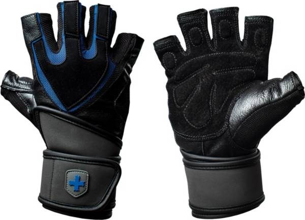 Harbinger Men's Train Grip WristWrap Gloves product image