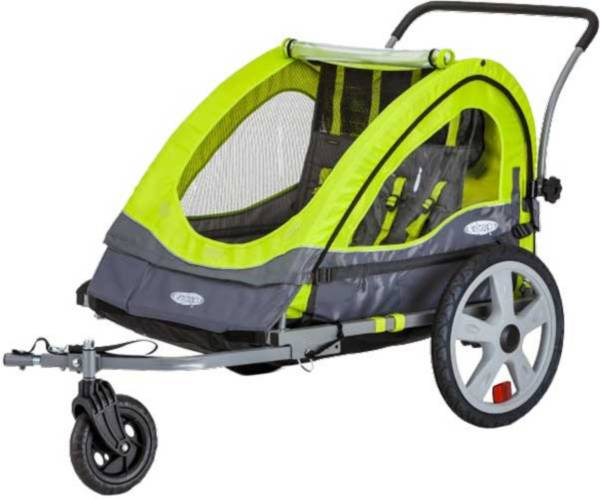 InSTEP Quick N EZ 10 Double Bike Trailer and Stroller product image