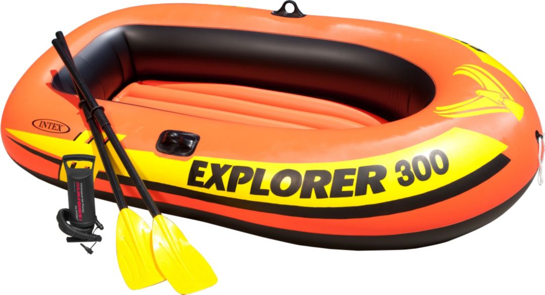 Intex Explorer 300 Inflatable Boat Package