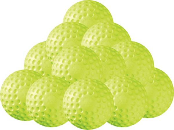 """Jugs 12"""" Sting-Free Dimpled Softballs - 12 Pack product image"""