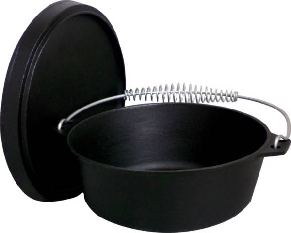 King Kooker 12 Quart Seasoned Cast Iron Dutch Oven product image
