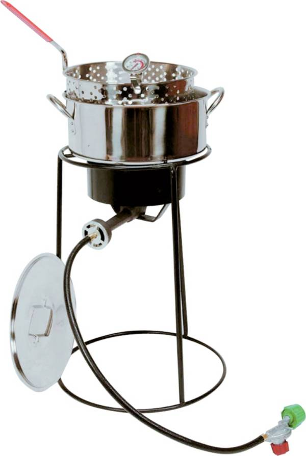 """King Kooker 20"""" Fish Fryer Package with 10 Quart Stainless Steel Pot product image"""