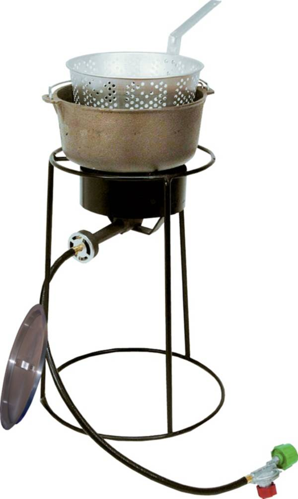 """King Kooker 20"""" Fish Fryer Package with 6 Quart Cast Iron Pot product image"""