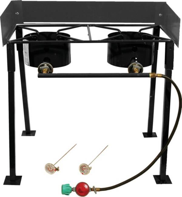 "King Kooker 25"" Rectangular Double Burner Camp Stove Package product image"