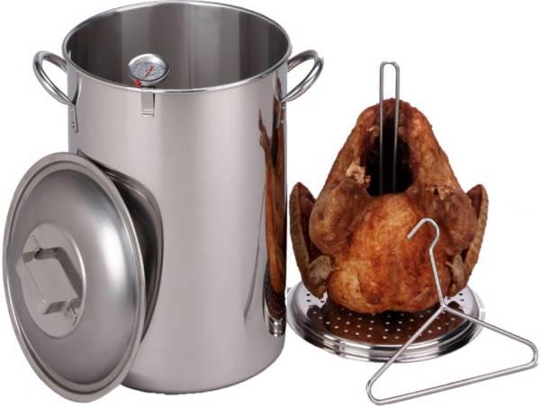 King Kooker 26 Quart Stainless Steel Turkey Pot Package product image