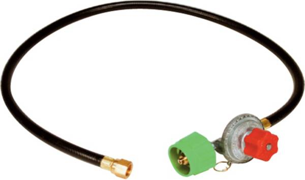 King Kooker High Pressure Adjustable Regulator and Listed Low Pressure Hose with Female Flare Swivel product image