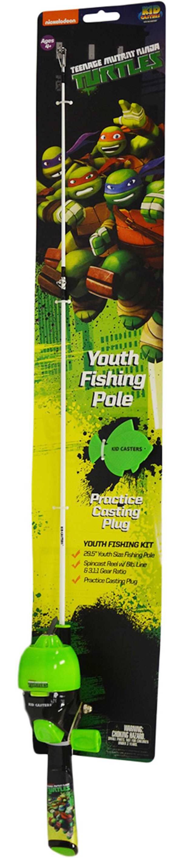 Lil' Anglers Teenage Mutant Ninja Turtles Fishing Kit product image