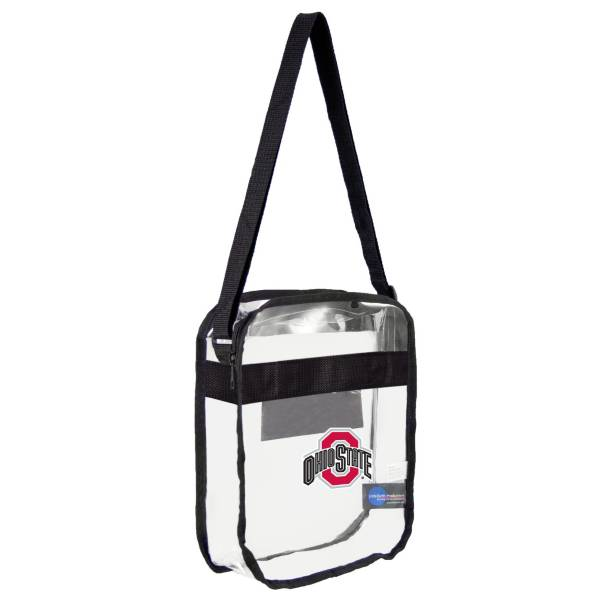 Ohio State Buckeyes Convertible Black/Clear Tote product image