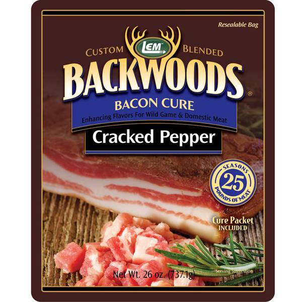 LEM Backwoods Cracked Pepper Bacon Cure product image