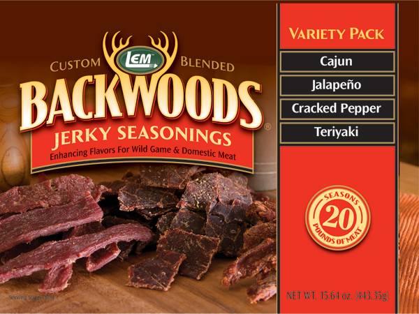 LEM Backwoods Jerky Seasoning Variety Pack product image