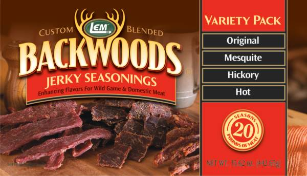 LEM Custom-Blended Backwoods Jerky Seasoning Variety Pack product image
