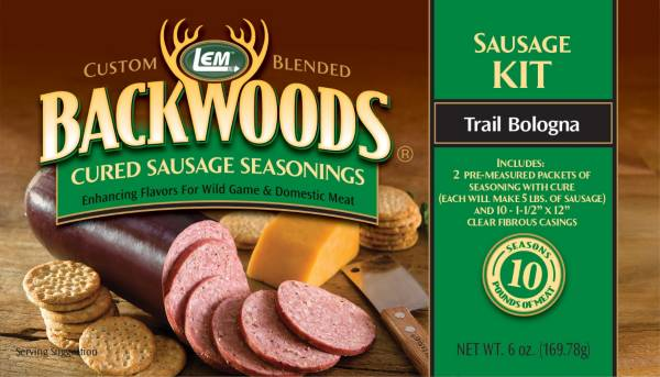 LEM Custom-Blended Backwoods Cured Trail Bologna Sausage Kit product image