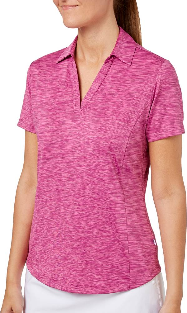 Lady Hagen Women's Essentials Space Dye Golf Polo product image