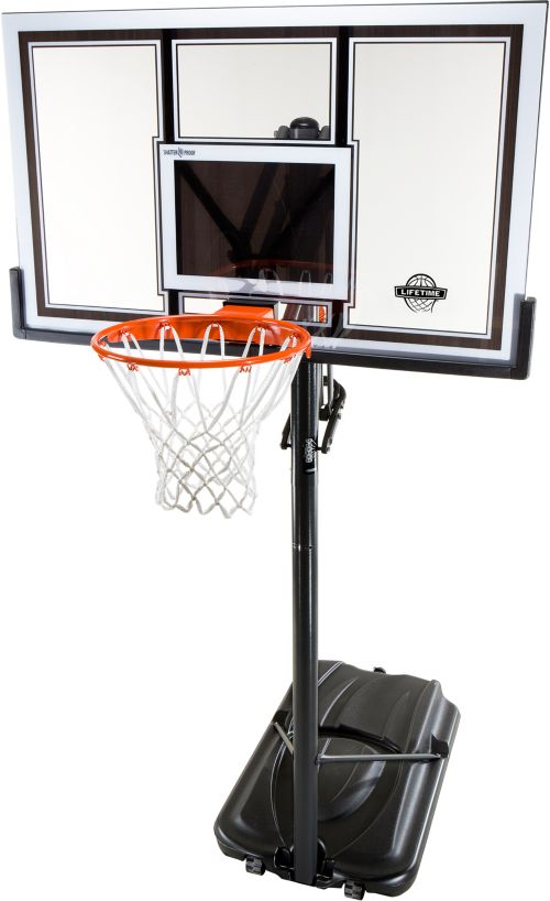 "Lifetime 54"" Portable Basketball Hoop. noImageFound. 1 5365672801"
