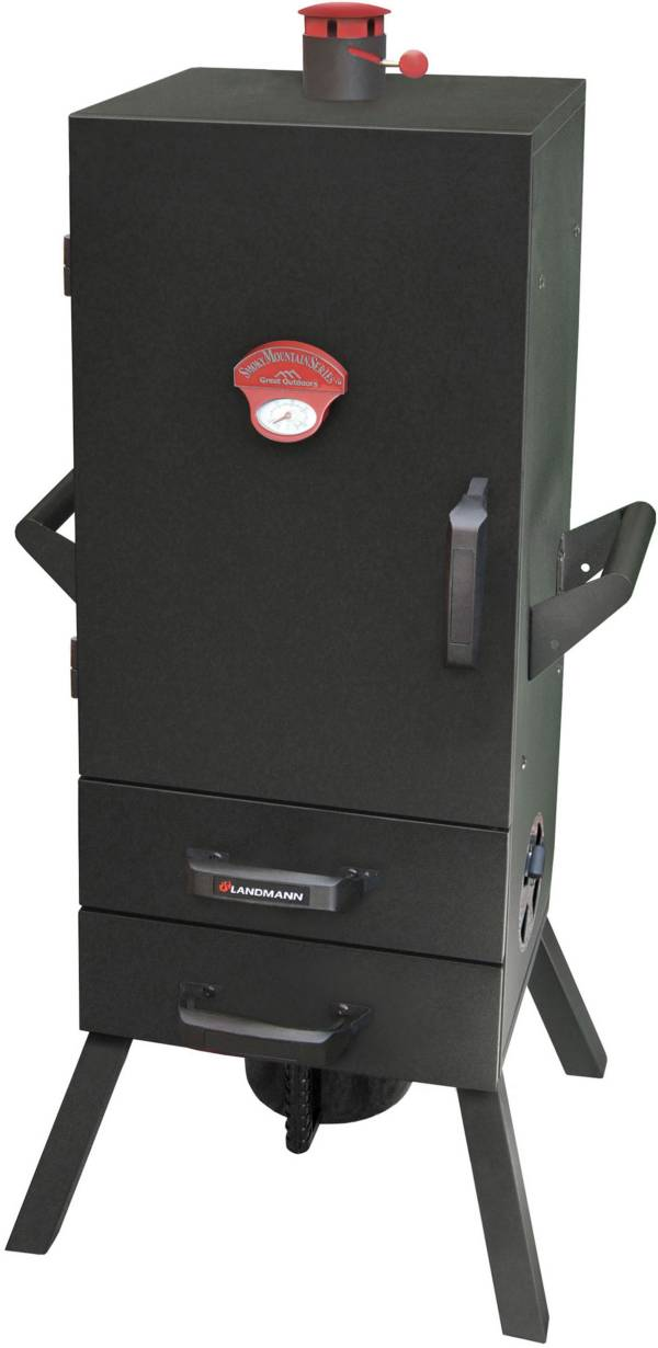 "Landmann; 24"" Two-Drawer Vertical Charcoal Smoker product image"