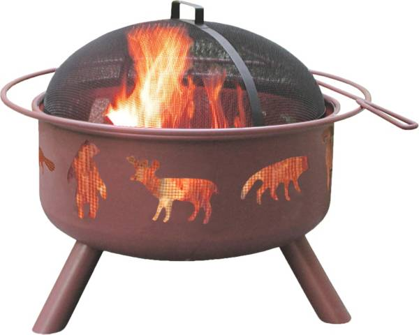 "Landmann Wildlife 29.5"" Georgia Clay Fire Pit product image"