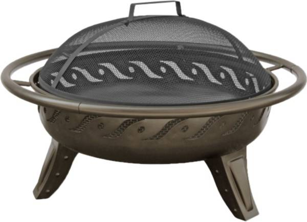 "Landmann Firewave 29.5"" Metallic Brown Fire Pit product image"