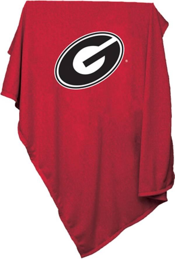 Georgia Bulldogs Sweatshirt Blanket product image