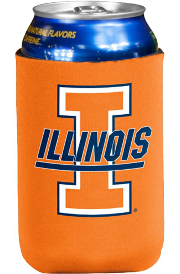 Illinois Fighting Illini Flat Koozie product image