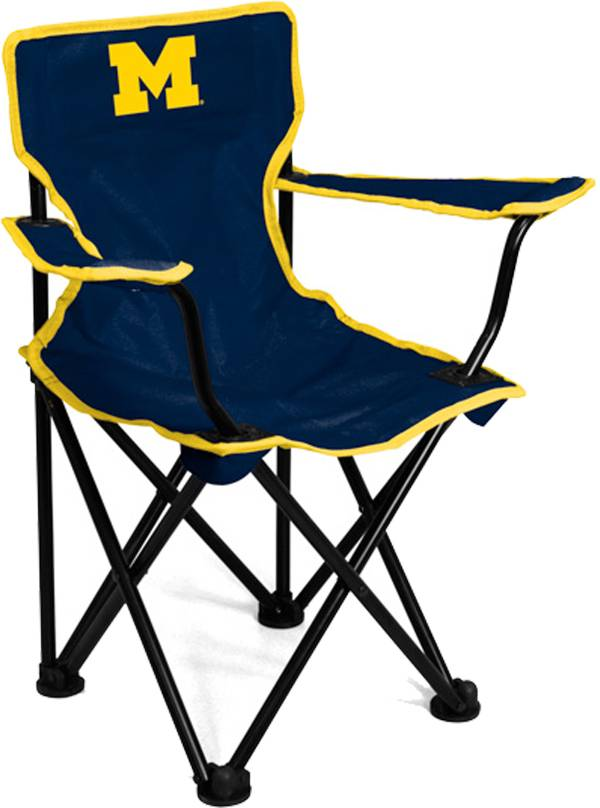 Michigan Wolverines Kids Logo Chair product image