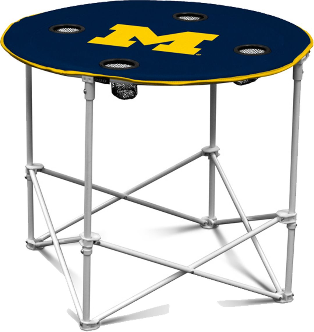 Astonishing Michigan Wolverines Round Table Gmtry Best Dining Table And Chair Ideas Images Gmtryco