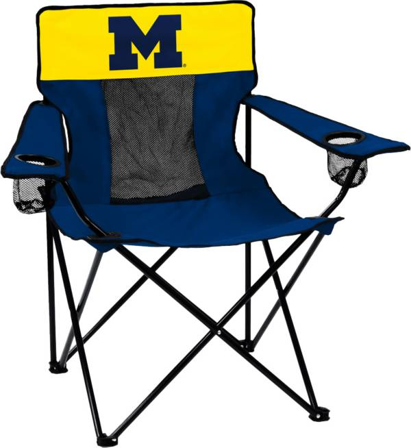 Michigan Wolverines Elite Chair product image