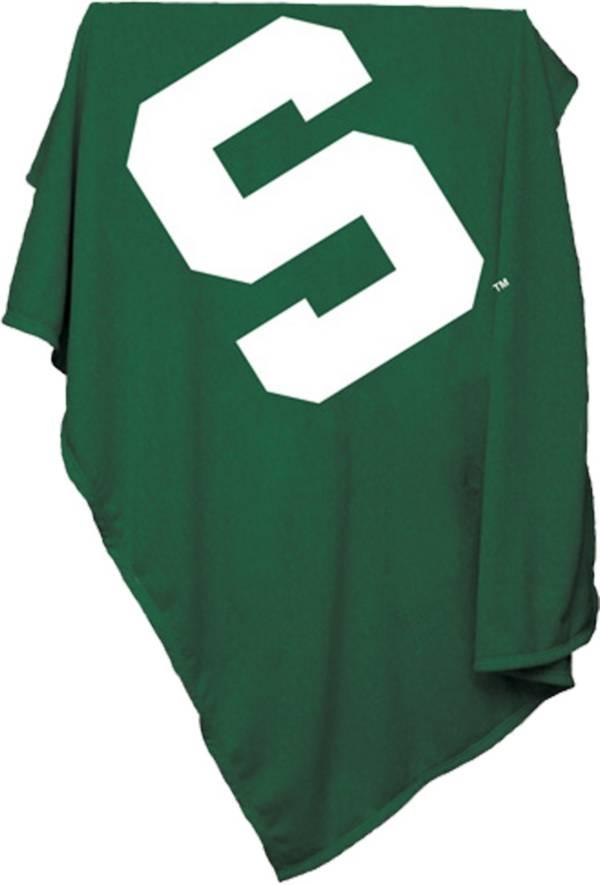 Michigan State Spartans Sweatshirt Blanket product image
