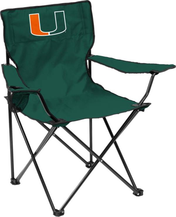 Miami Hurricanes Team-Colored Canvas Chair product image