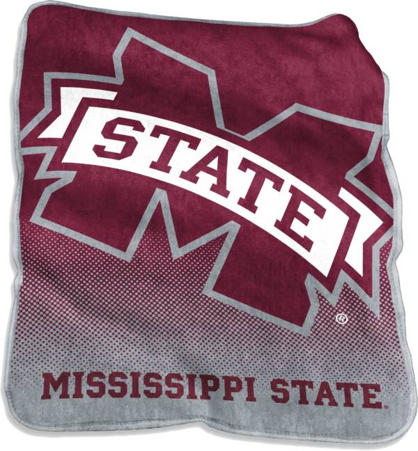 Mississippi State Bulldogs Raschel Throw product image