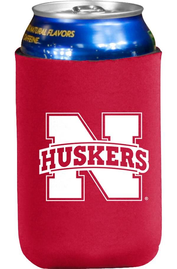 Nebraska Cornhuskers Flat Koozie product image