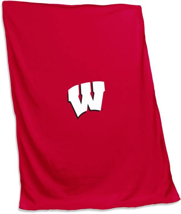 Wisconsin Badgers 54'' x 84'' Sweatshirt Blanket product image