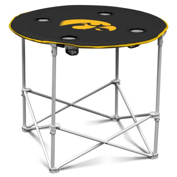 Iowa Hawkeyes Portable Round Table product image