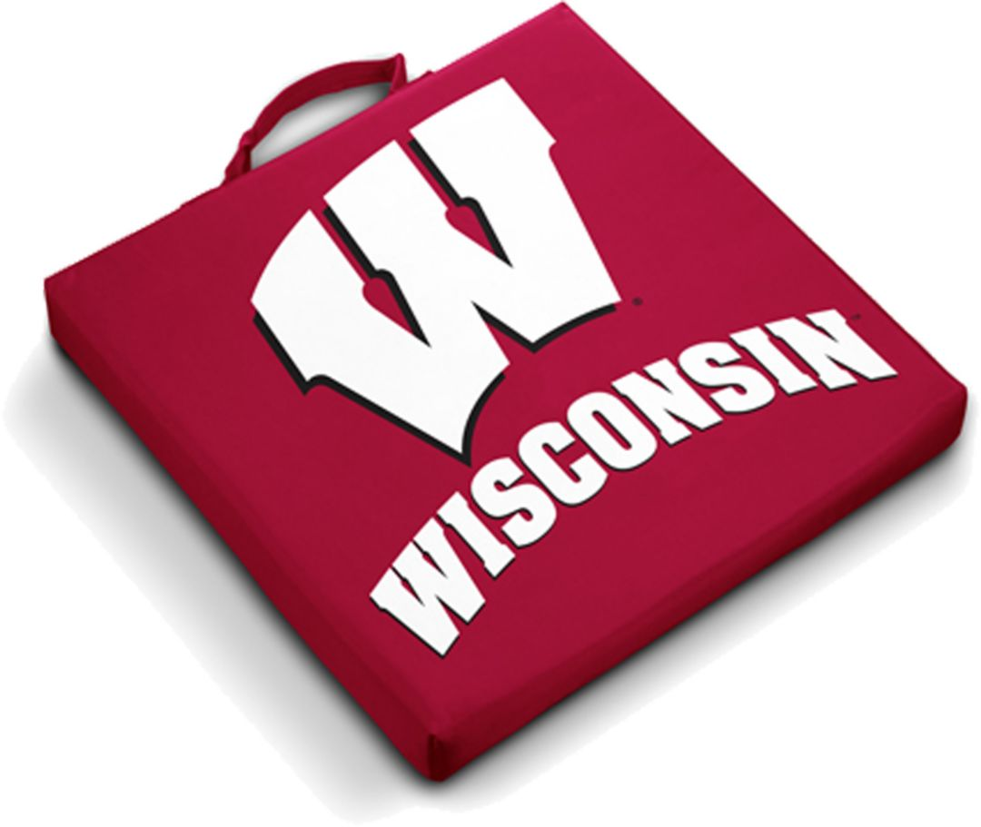low priced 26b75 334ea Wisconsin Badgers Stadium Seat Cushion. noImageFound. 1