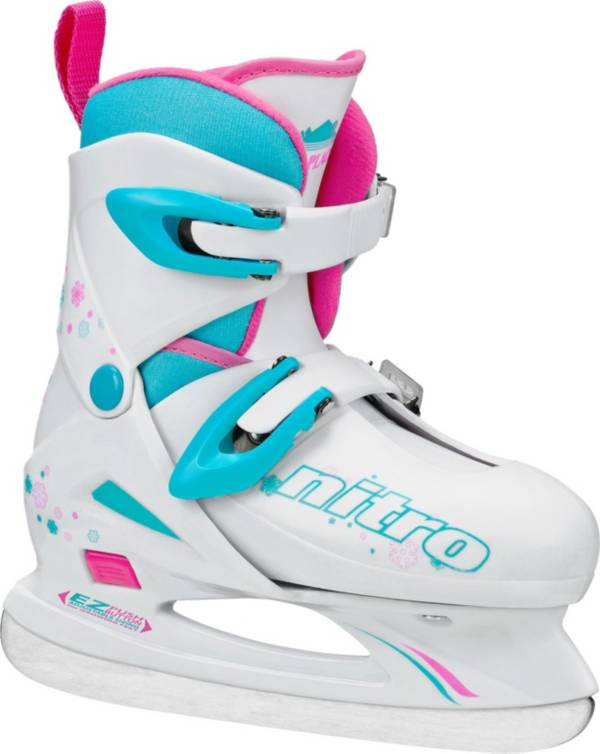 Lake Placid Girls' Nitro 8.8 Adjustable Figure Skates product image