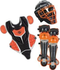 Red Youth Series 5 3-Piece Catchers Set Louisville Slugger PGS514-STY Navy