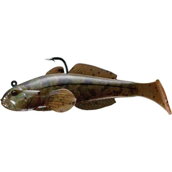 LIVETARGET Goby Paddle Tail Soft Bait product image