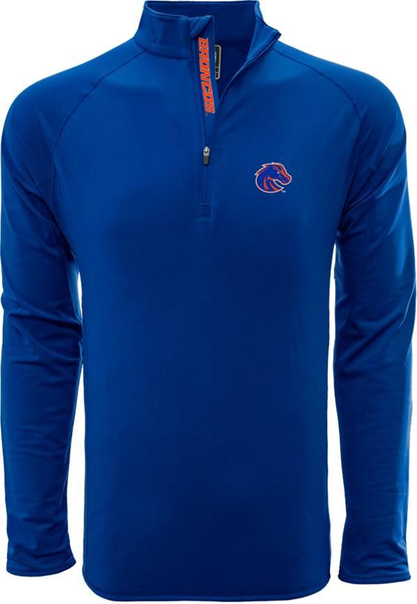 Levelwear Men's Boise State Broncos Blue Metro Quarter-Zip Pullover product image