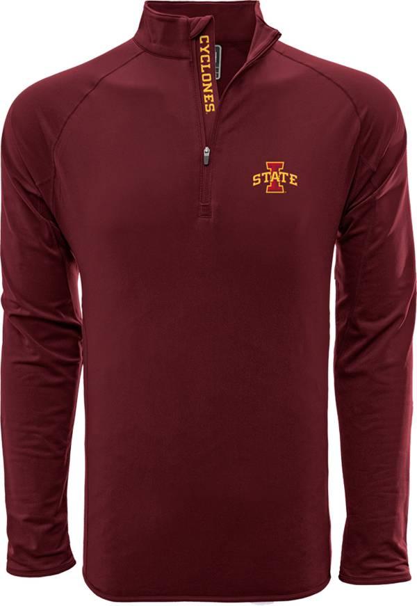 Levelwear Men's Iowa State Cyclones Cardinal Metro Quarter-Zip Pullover product image
