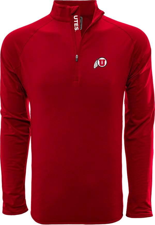 Levelwear Men's Utah Utes Crimson Metro Quarter-Zip Pullover product image